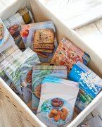 boîte de cartes recettes